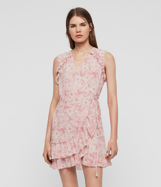 AllSaints Priya Rosa Dress