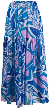 Emilio Pucci Flared Printed Skirt