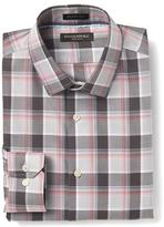 Banana Republic Grant-Fit Non-Iron Multi Plaid Shirt