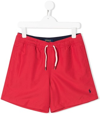 Ralph Lauren Kids Drawstring Swim Shorts