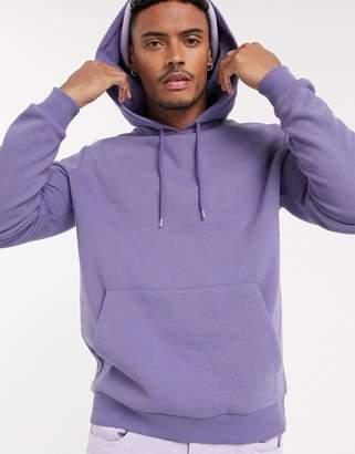 Asos Design DESIGN hoodie in purple