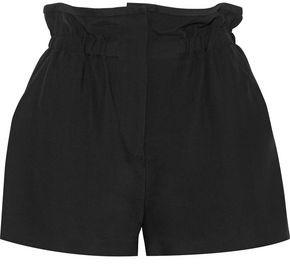 IRO Fineti Gathered Canvas Shorts
