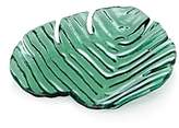 Annieglass Palm Frond Plate