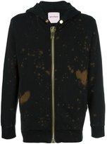 Palm Angels bleached zip hoodie
