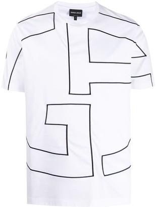Giorgio Armani monogram T-shirt