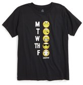 Boy's Body Rags Clothing Co. Smiley Graphic T-Shirt
