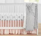 Pottery Barn Kids Nursery Quilt Bedding Set: Quilt, Crib Fitted Sheet & Crib Skirt