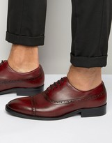 Dune Rebeche Leather Oxford Brogue Shoes