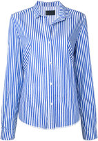 RtA striped shirt - women - Cotton - XS