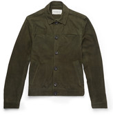 Oliver Spencer - Slim-fit Suede Jacket