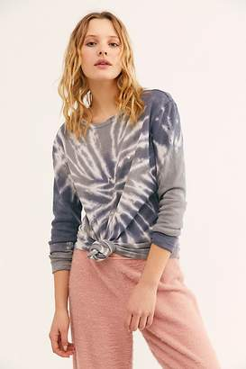 Sub Urban Riot Tie Dye Embroidered Maria Thermal by at Free People