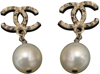 Chanel Gold gold and steel Earrings