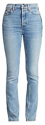 RE/DONE Women's Comfort Stretch Straight Jeans