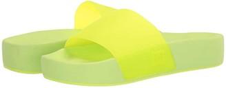 DC Slide Platform (Yellow) Women's Sandals