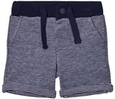 Mayoral Navy Pattern Sweat Shorts