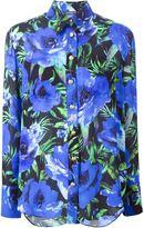 Balmain floral print shirt