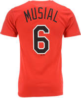 Majestic Men's Short-Sleeve Stan Musial St. Louis Cardinals Cooperstown Player T-Shirt