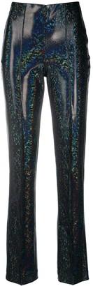 Saks Potts High-Rise Shimmer Trousers