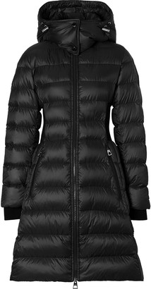 Burberry Rib-Knit Puffer Coat