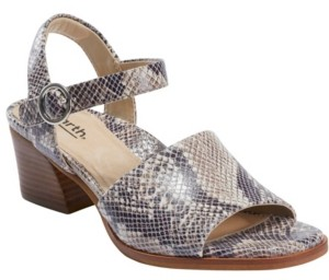 Earth Women's Murano Haze Block Heel Sandal Women's Shoes
