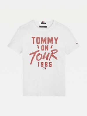 Tommy Hilfiger Tommy On Tour Organic Cotton T-Shirt