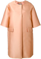 Max Mara Satin Svelto coat - women - Silk/Polyester - 40