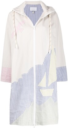 Mira Mikati Sailing Boat hooded coat
