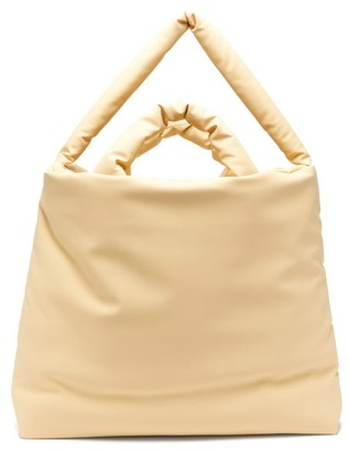 Kassl Editions Rubber Large Padded Tote Bag - Beige