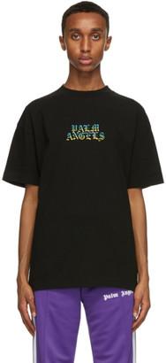 Palm Angels Black Hue Gothic Logo T-Shirt
