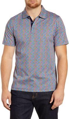 Bugatchi Regular Fit Cotton Polo Shirt