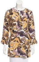 Tory Burch Silk Butterfly Tunic