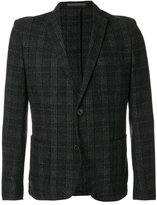Eleventy tweed two button blazer