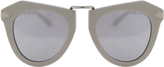 Karen Walker One Orbit Silver Mirror Sunglasses