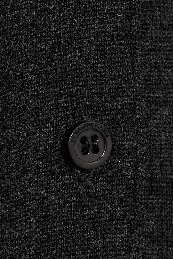 By Malene Birger Lalanda glitter-trimmed wool cardigan