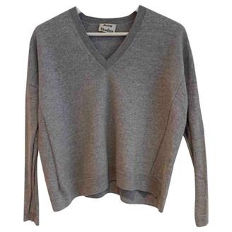 Acne Studios Grey Wool Knitwear for Women