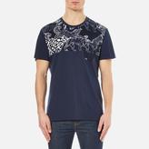 Versace Men's All Over Print TShirt - Multi