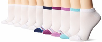 Fruit of the Loom Women's Everyday Soft Lightweight No Show Socks 10 Pair