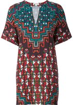 Mara Hoffman printed short dress - women - Tencel - XS