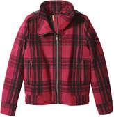 Joe Fresh Women's Plaid Jacket, Red (Size M)
