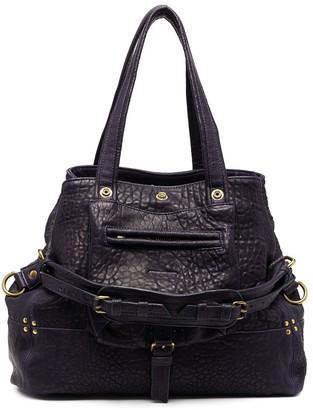 Jerome Dreyfuss Grain Leather Tote Bag