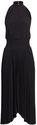 A.L.C. Renzo Pleated Midi Dress
