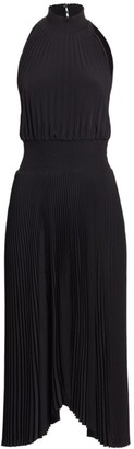 A.L.C. Renzo Pleated Midi Dress