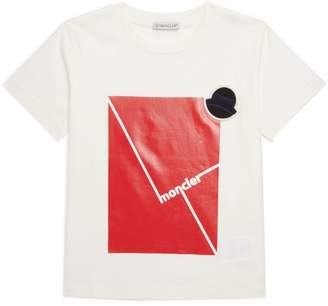Moncler Kids Colour-Block Logo T-Shirt (8-10 Years)
