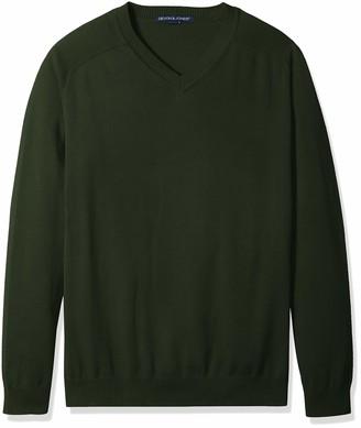 D And Jones D & Jones Men's DEJN-D475 V-Neck Sweater