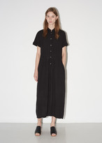 Raquel Allegra Crinkle Shirt Dress