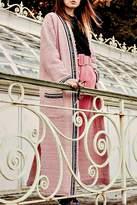 Maryley Pink Tweed Duster