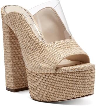 Jessica Simpson Annalyn Platform Slide Sandal
