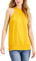Thumbnail for your product : Fever Ruched Halter Top