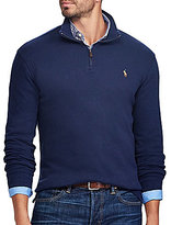 Polo Ralph Lauren Big & Tall Estate-Rib Half-Zip Pullover