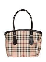 Burberry Small Newfield Haymarket Pvc Bag